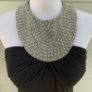 JS Boutique Dresses - JS Boutique Halter Full-Length Formal EveningDress